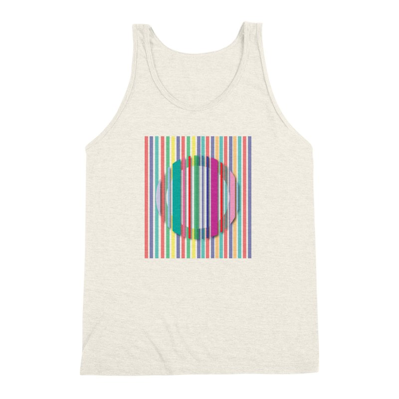 Abstract_with_stripes Men's Triblend Tank by snapdragon64's Shop