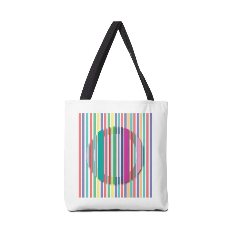 Abstract_with_stripes Accessories Tote Bag Bag by snapdragon64's Shop