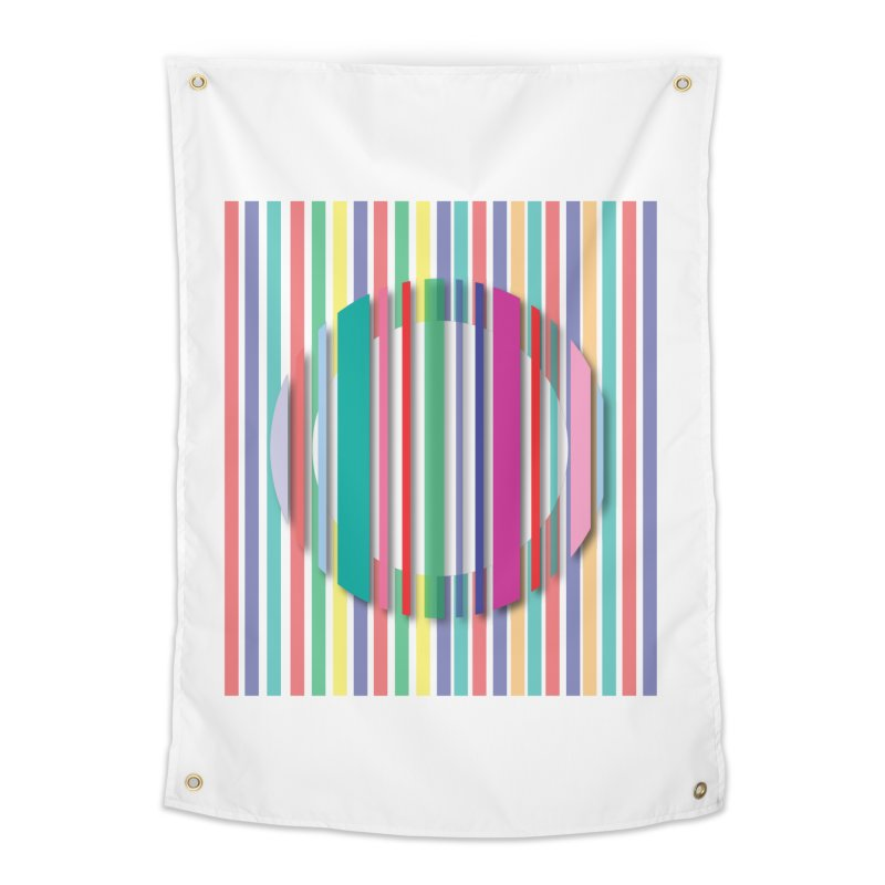 Abstract_with_stripes Home Tapestry by snapdragon64's Shop