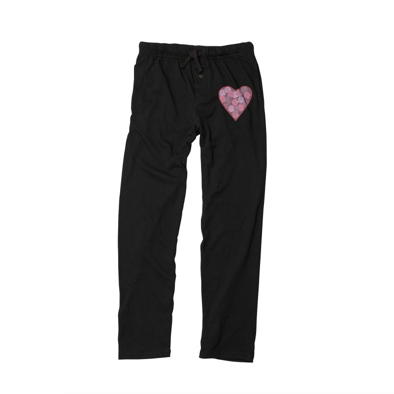 Heart filled with flowers Women's Lounge Pants by snapdragon64's Shop