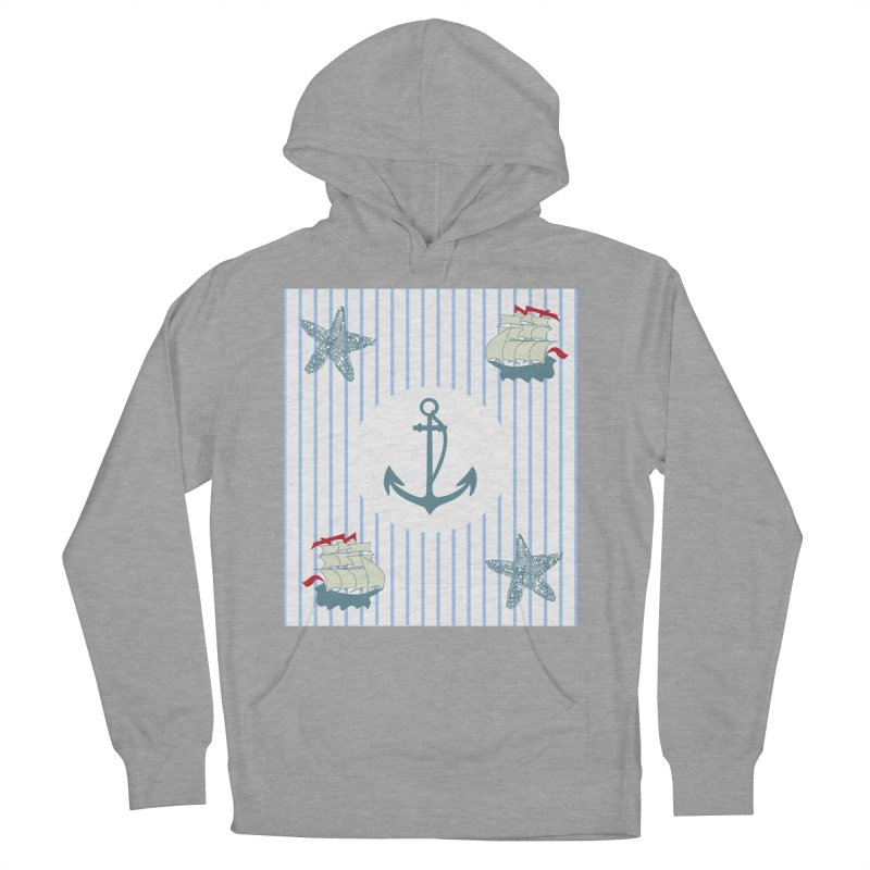 Nautical Men's Pullover Hoody by snapdragon64's Shop