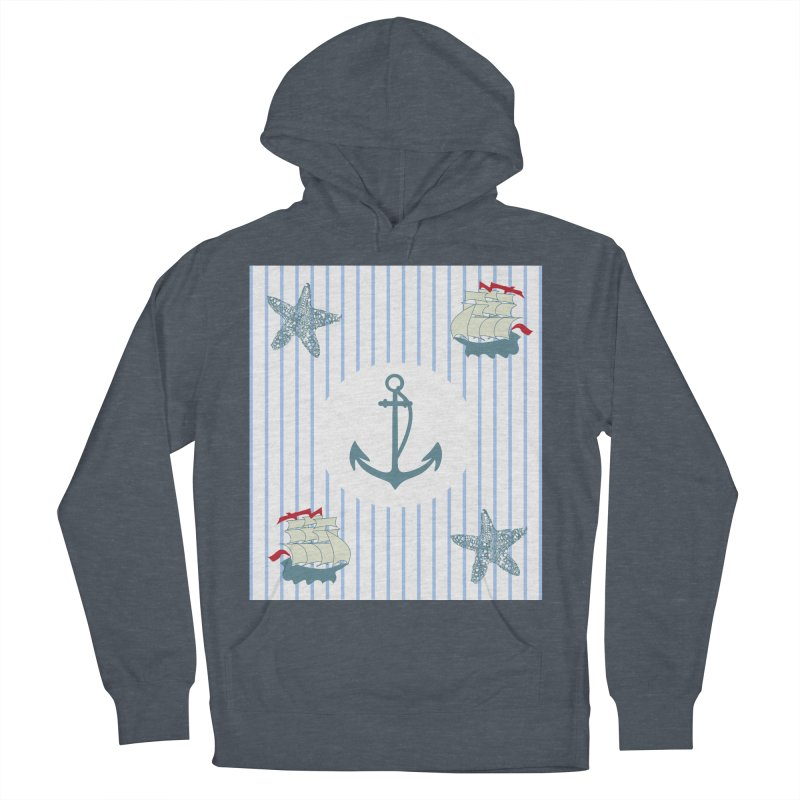 Nautical Women's French Terry Pullover Hoody by snapdragon64's Shop