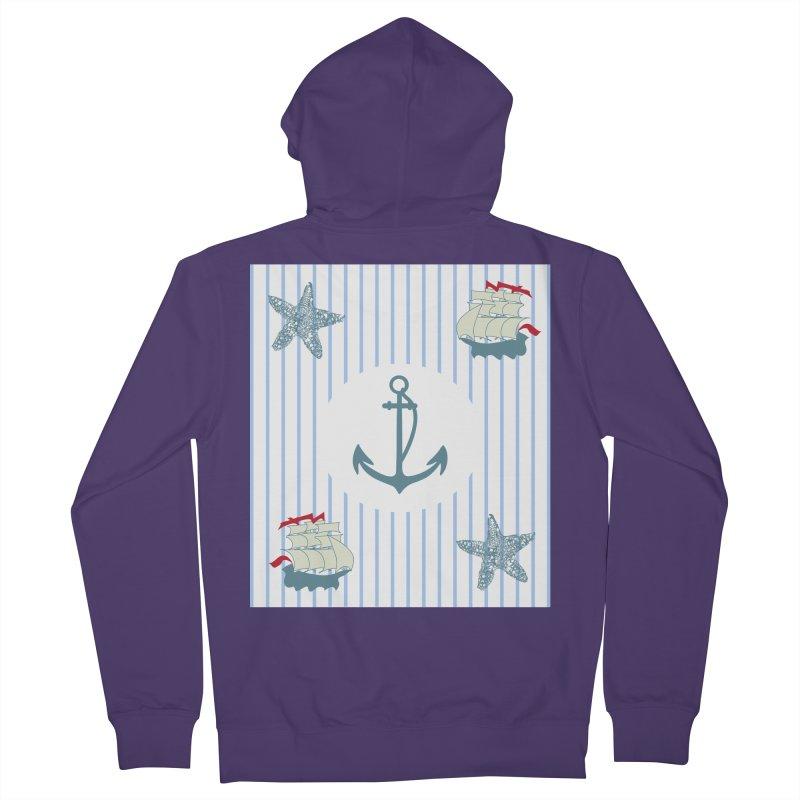 Nautical Women's Zip-Up Hoody by snapdragon64's Shop