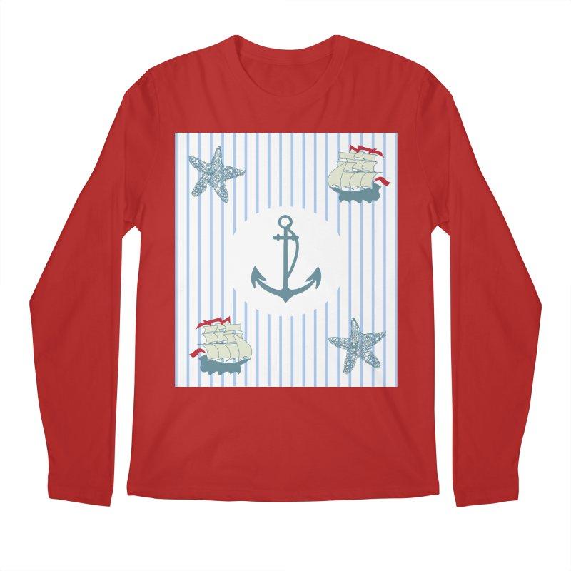 Nautical Men's Longsleeve T-Shirt by snapdragon64's Shop