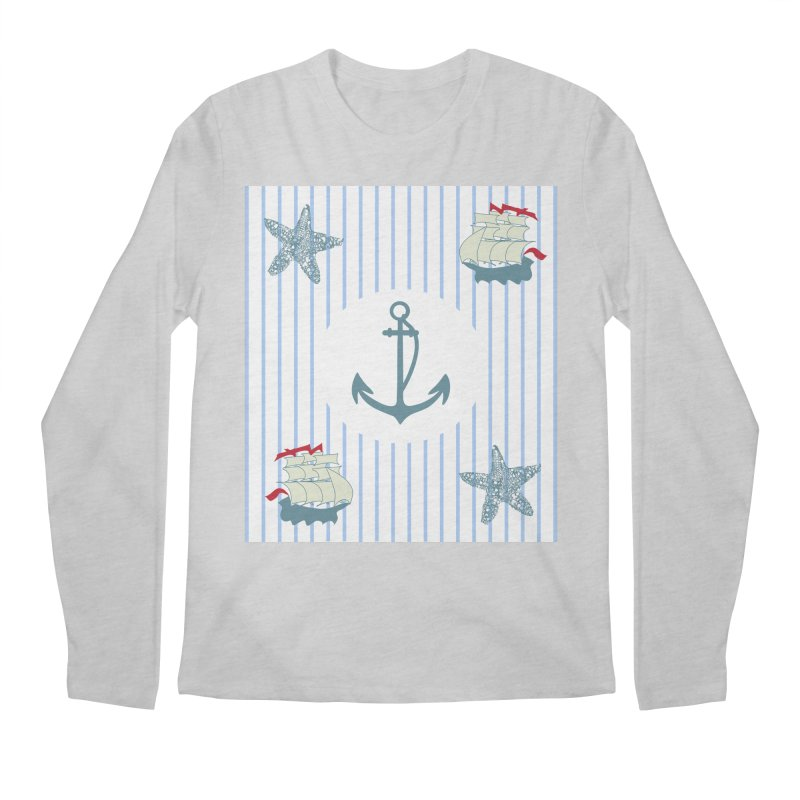 Nautical Men's Regular Longsleeve T-Shirt by snapdragon64's Shop