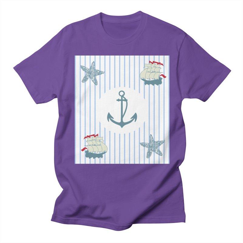 Nautical Men's Regular T-Shirt by snapdragon64's Shop