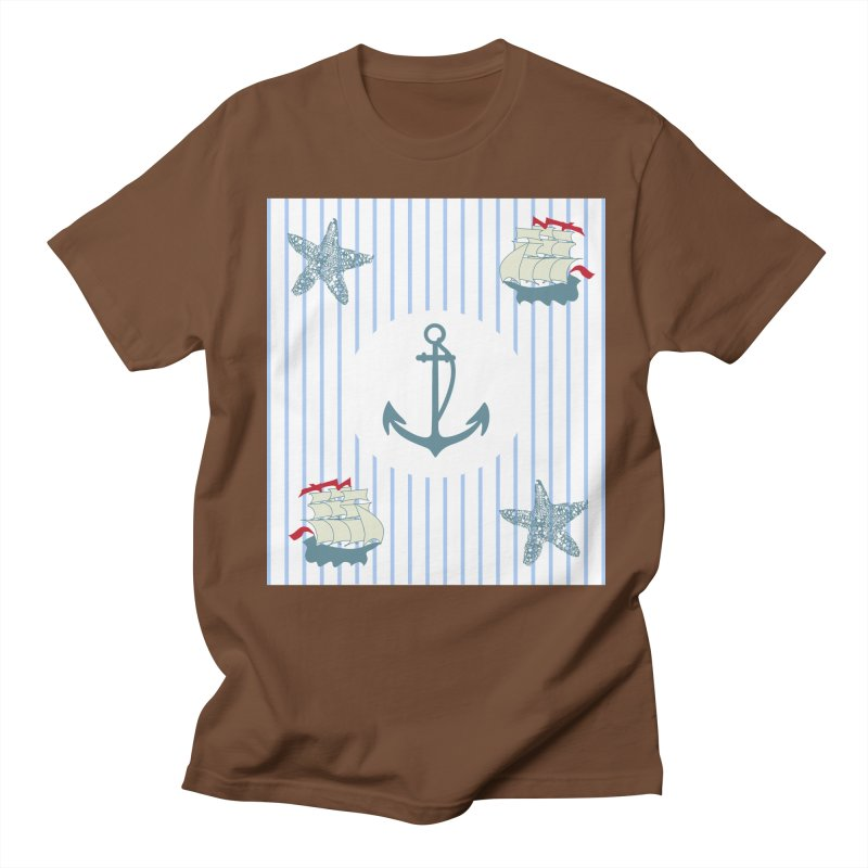 Nautical Men's Regular T-Shirt by snapdragon64's Shop