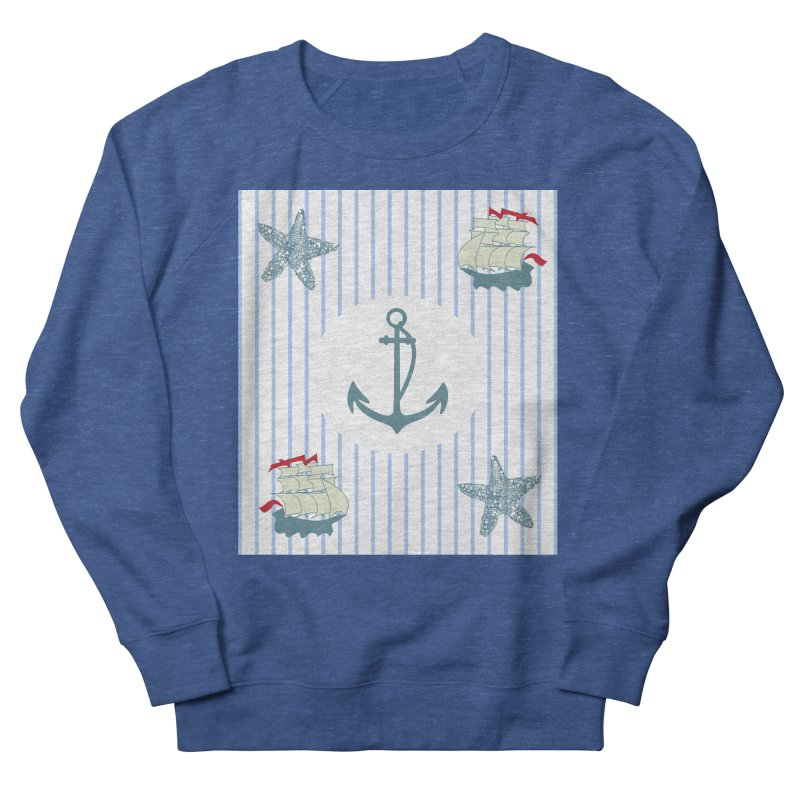 Nautical Women's French Terry Sweatshirt by snapdragon64's Shop