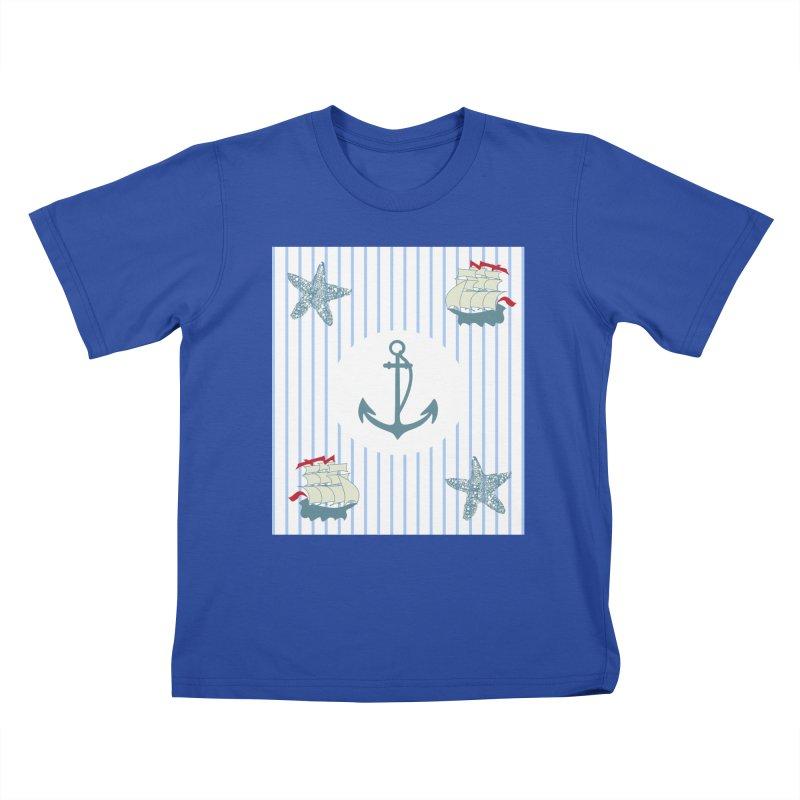 Nautical Kids T-Shirt by snapdragon64's Shop