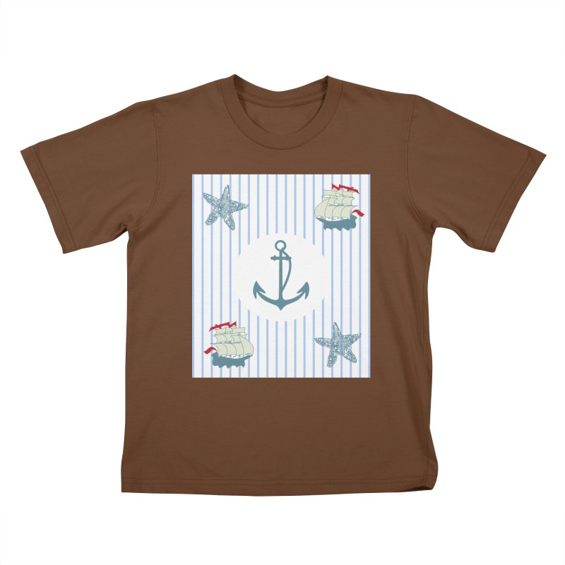 Nautical Kids T-Shirt by snapdragon64's Shop