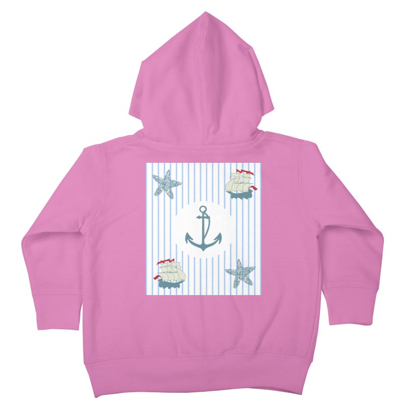 Nautical Kids Toddler Zip-Up Hoody by snapdragon64's Shop