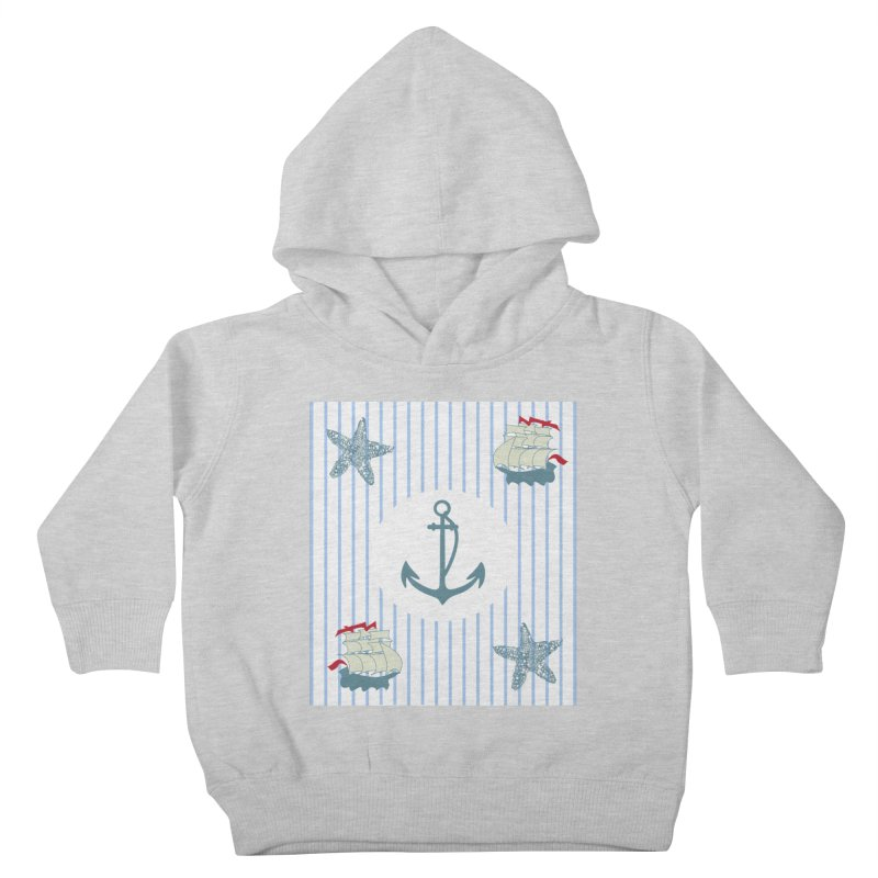 Nautical Kids Toddler Pullover Hoody by snapdragon64's Shop
