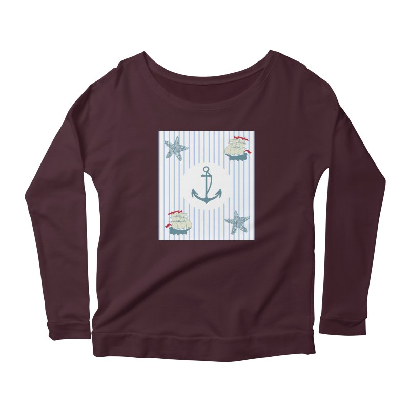 Nautical Women's Longsleeve T-Shirt by snapdragon64's Shop