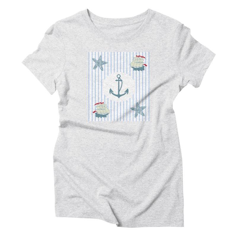 Nautical Women's T-Shirt by snapdragon64's Shop
