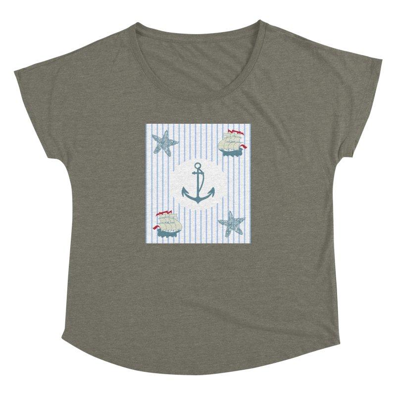 Nautical Women's Dolman by snapdragon64's Shop