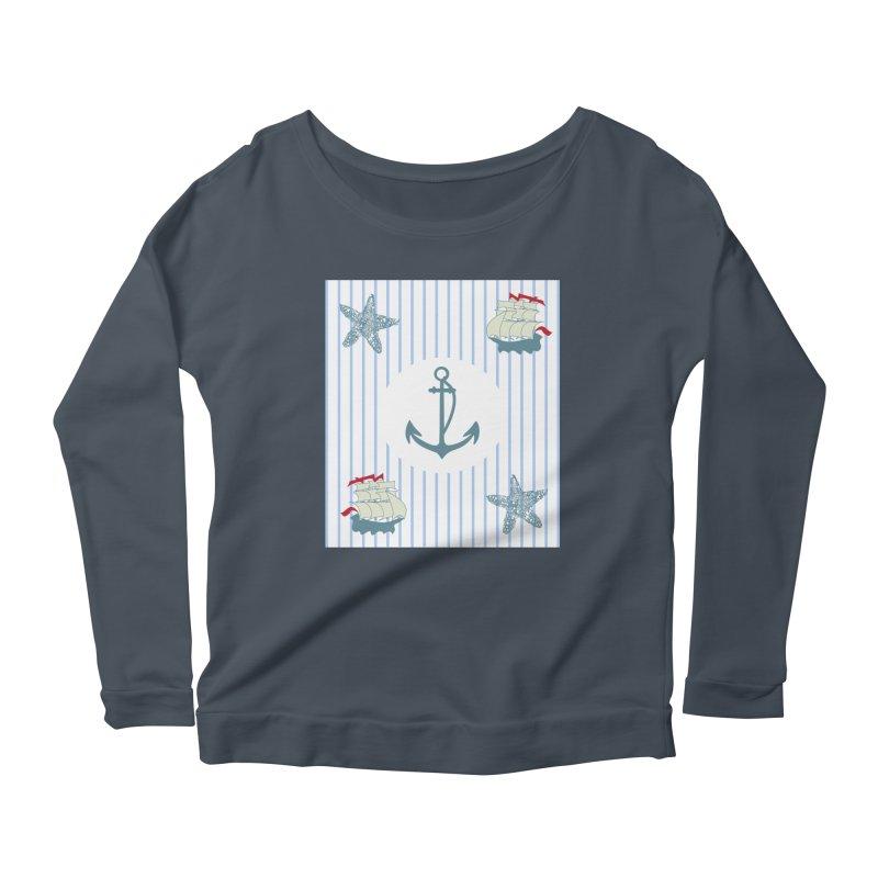 Nautical Women's Scoop Neck Longsleeve T-Shirt by snapdragon64's Shop