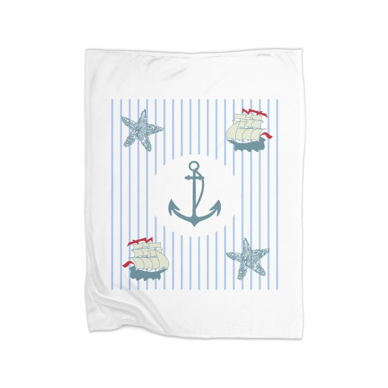 Nautical Home Blanket by snapdragon64's Shop