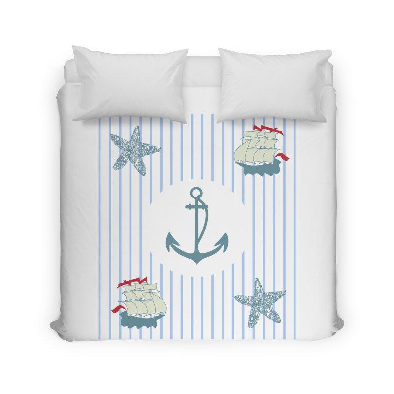 Nautical Home Duvet by snapdragon64's Shop