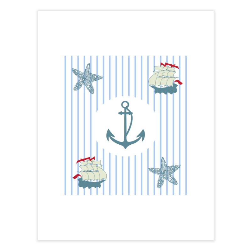 Nautical Home Fine Art Print by snapdragon64's Shop