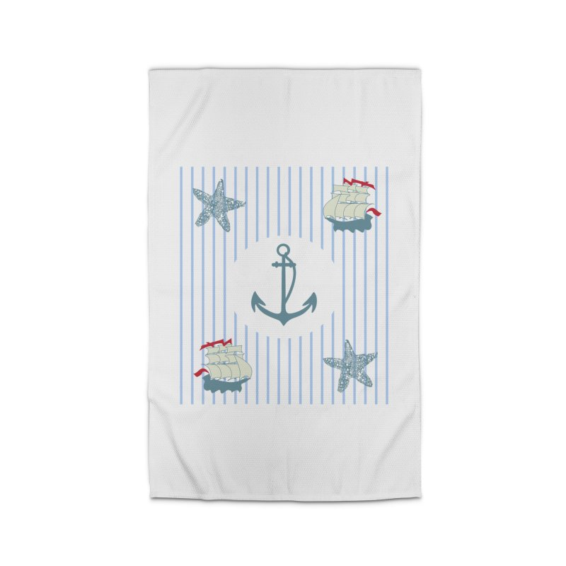 Nautical Home Rug by snapdragon64's Shop