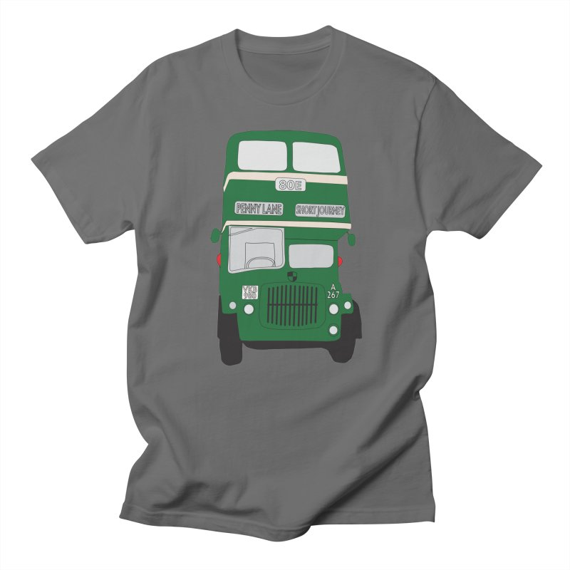 Penny Lane Liverpool bus Men's T-Shirt by snapdragon64's Shop