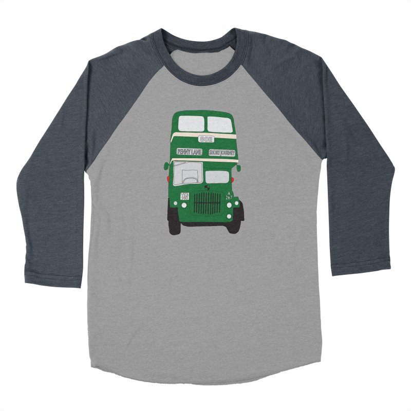 Penny Lane Liverpool bus Men's Baseball Triblend Longsleeve T-Shirt by snapdragon64's Shop