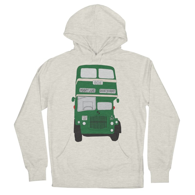 Penny Lane Liverpool bus Women's Pullover Hoody by snapdragon64's Shop