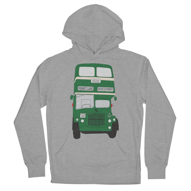 Penny Lane Liverpool bus Men's Pullover Hoody by snapdragon64's Shop