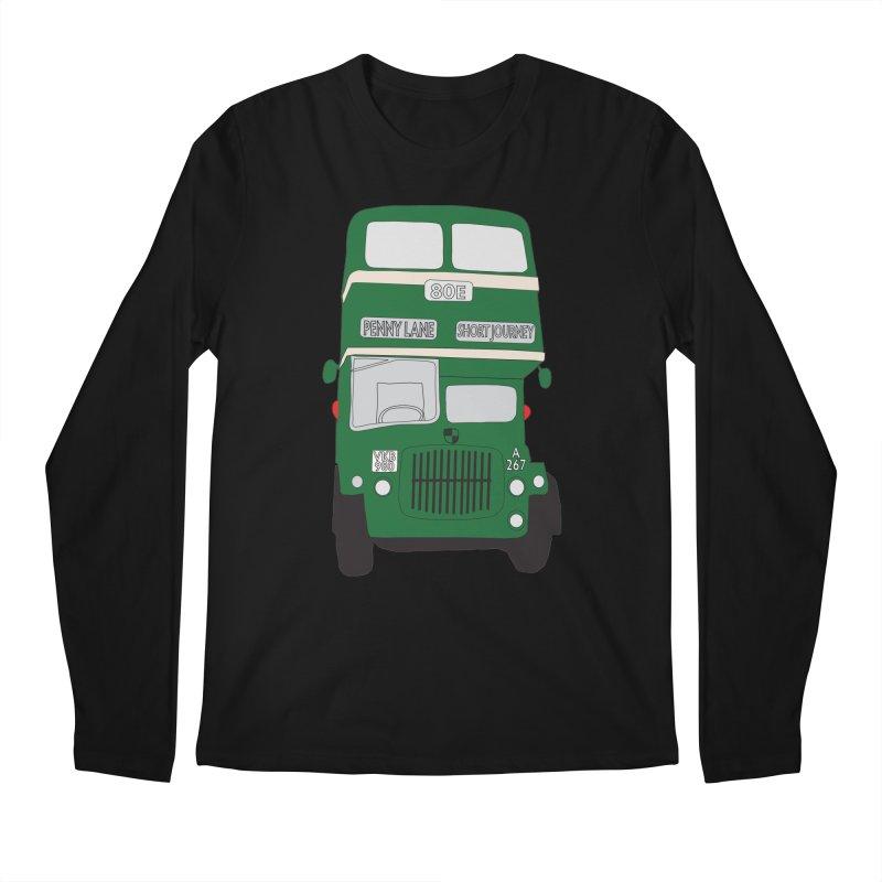 Penny Lane Liverpool bus Men's Longsleeve T-Shirt by snapdragon64's Shop