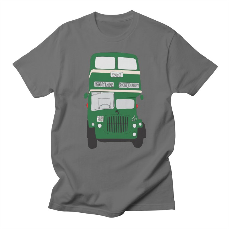 Penny Lane Liverpool bus Men's T-Shirt by snapdragon64's Shop