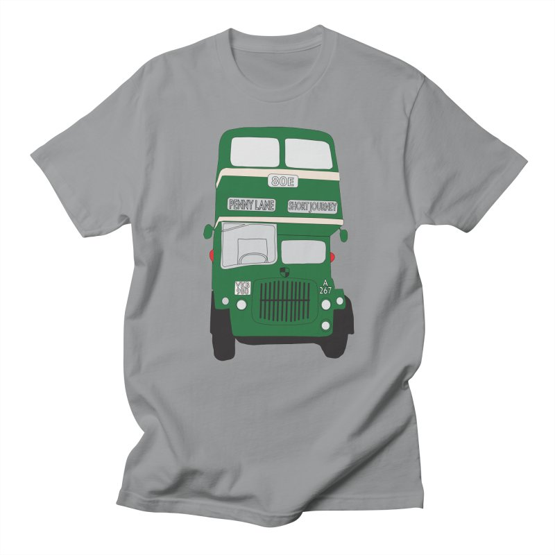 Penny Lane Liverpool bus Men's Regular T-Shirt by snapdragon64's Shop
