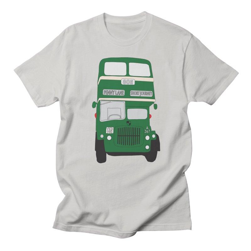 Penny Lane Liverpool bus Men's Regular T-Shirt by snapdragon64's Shop