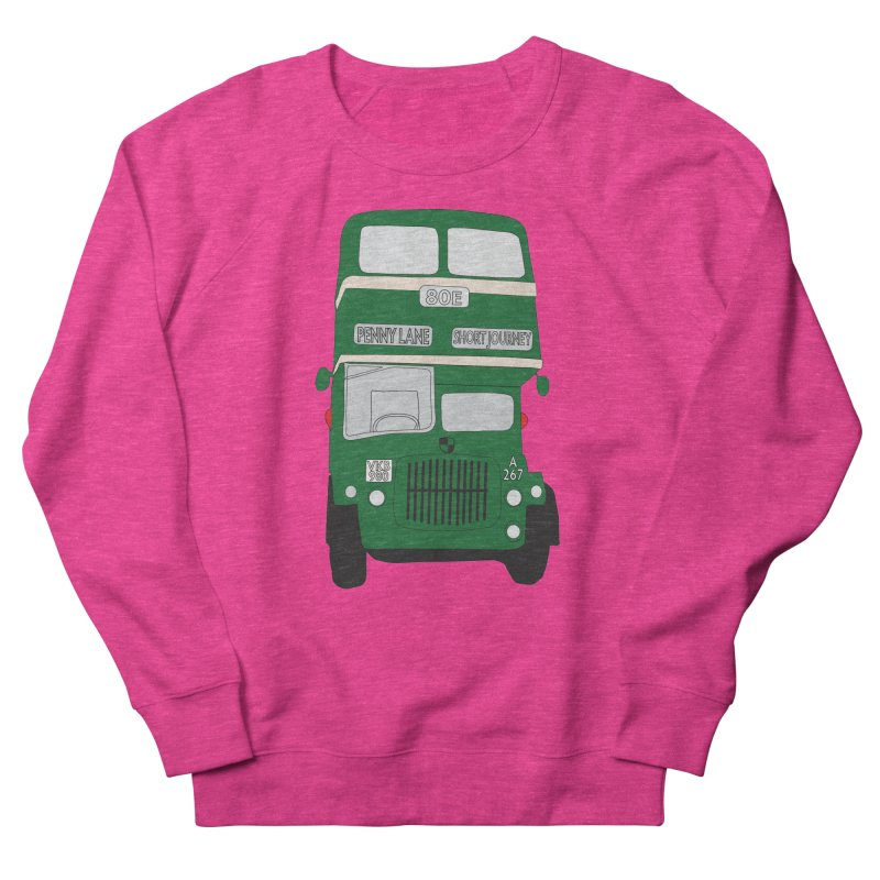 Penny Lane Liverpool bus Women's Sweatshirt by snapdragon64's Shop
