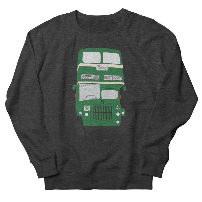 Penny Lane Liverpool bus Men's Sweatshirt by snapdragon64's Shop