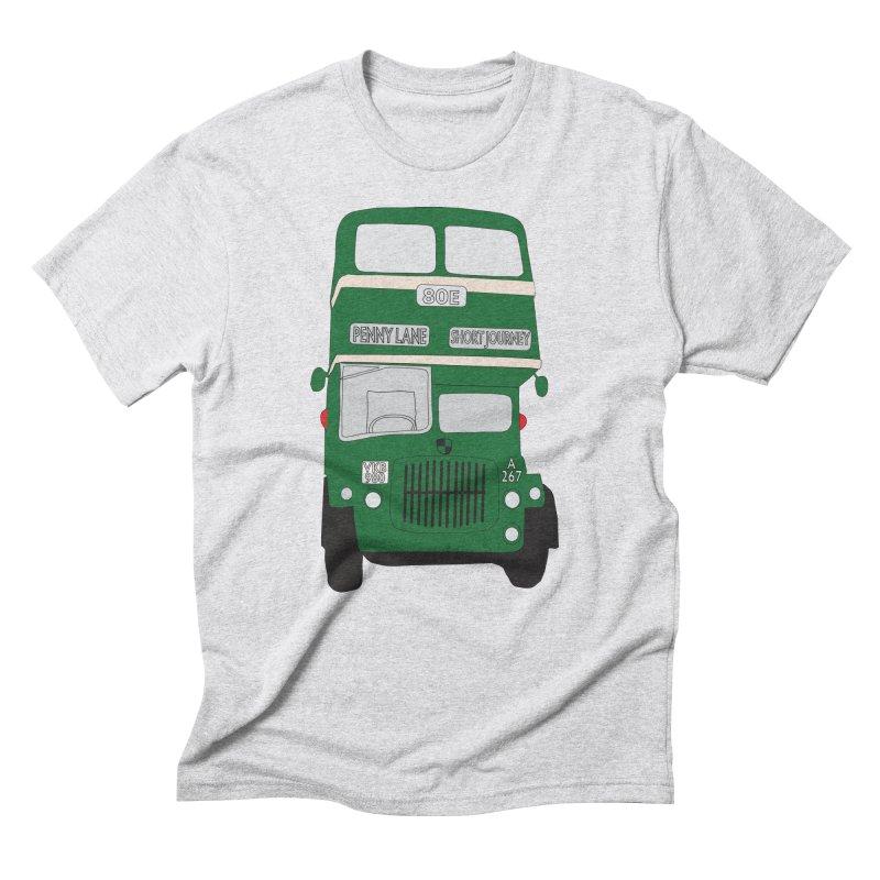 Penny Lane Liverpool bus Men's Triblend T-Shirt by snapdragon64's Shop
