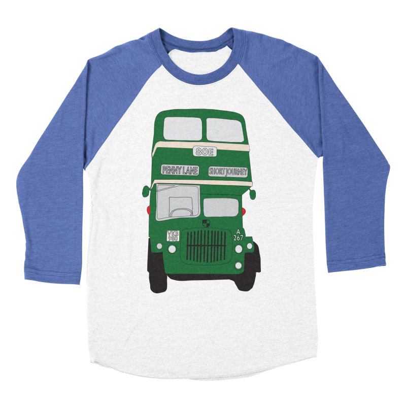 Penny Lane Liverpool bus Men's Longsleeve T-Shirt by snapdragon64's Shop