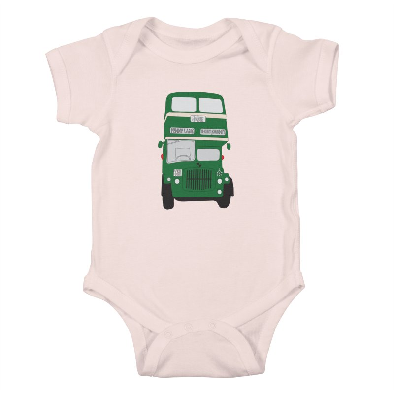 Penny Lane Liverpool bus Kids Baby Bodysuit by snapdragon64's Shop