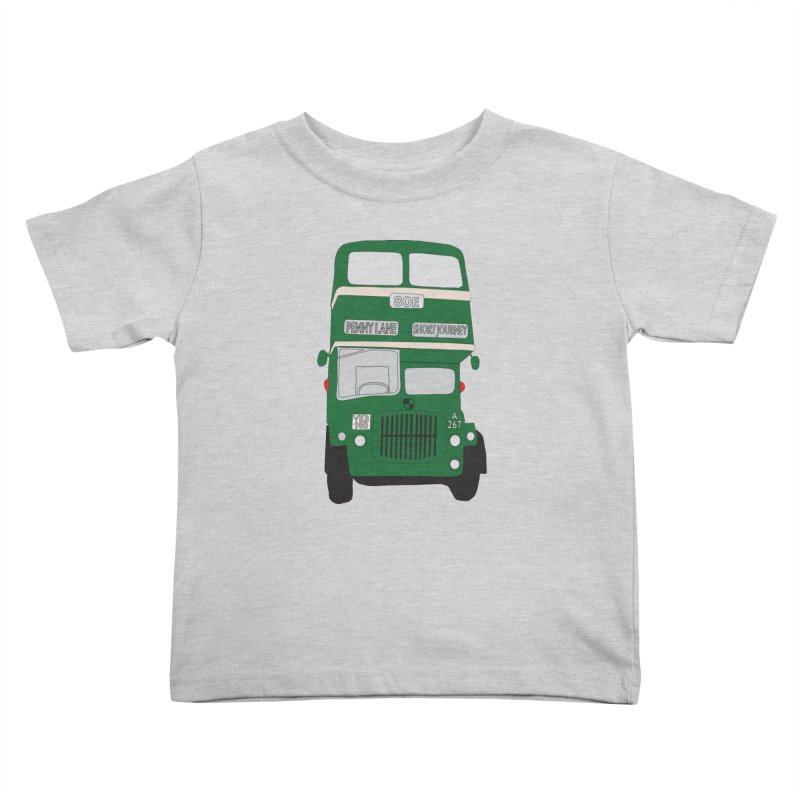Penny Lane Liverpool bus Kids Toddler T-Shirt by snapdragon64's Shop
