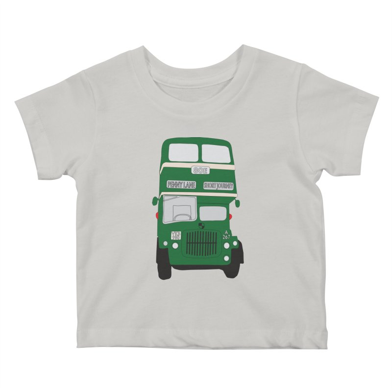 Penny Lane Liverpool bus Kids Baby T-Shirt by snapdragon64's Shop