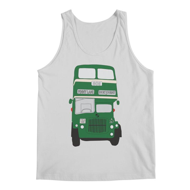 Penny Lane Liverpool bus Men's Regular Tank by snapdragon64's Shop