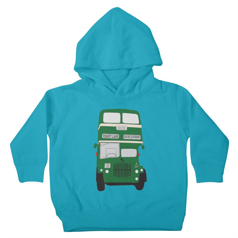 Penny Lane Liverpool bus Kids Toddler Pullover Hoody by snapdragon64's Shop
