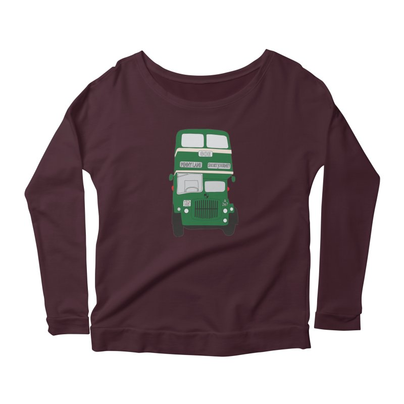 Penny Lane Liverpool bus Women's Longsleeve T-Shirt by snapdragon64's Shop