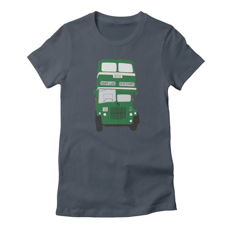 Penny Lane Liverpool bus Women's T-Shirt by snapdragon64's Shop