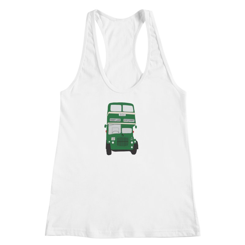 Penny Lane Liverpool bus Women's Racerback Tank by snapdragon64's Shop