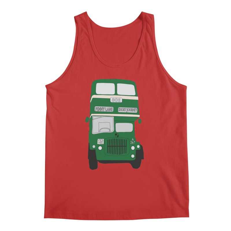 Penny Lane Liverpool bus Men's Regular Tank by snapdragon64's Shop
