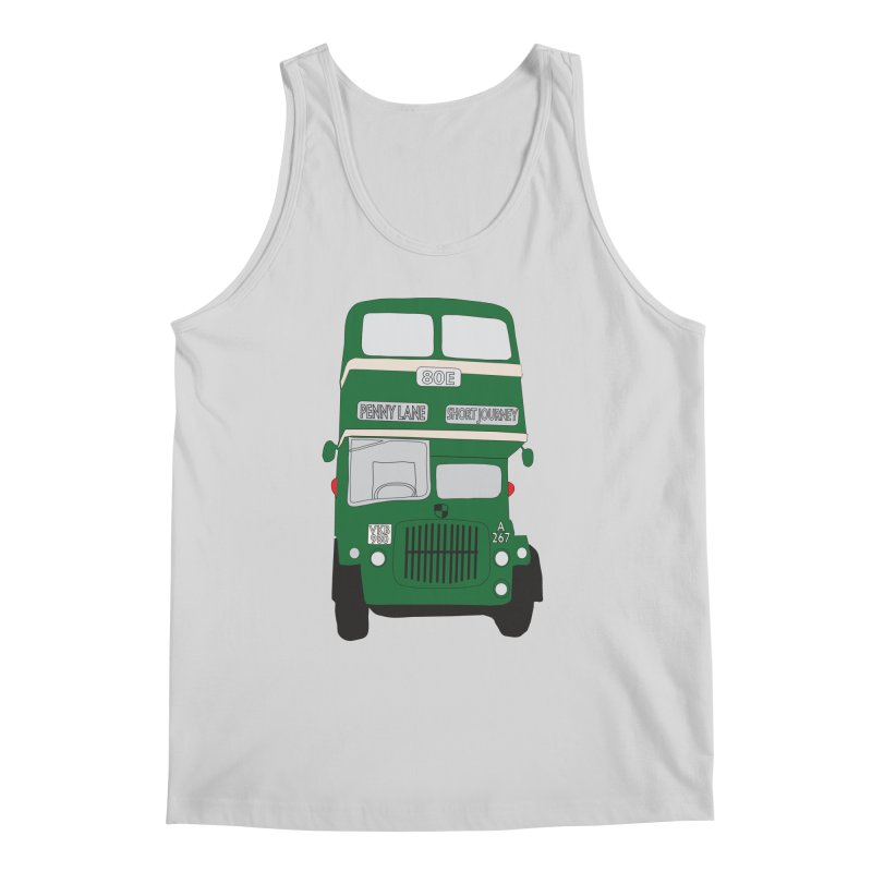 Penny Lane Liverpool bus Men's Tank by snapdragon64's Shop