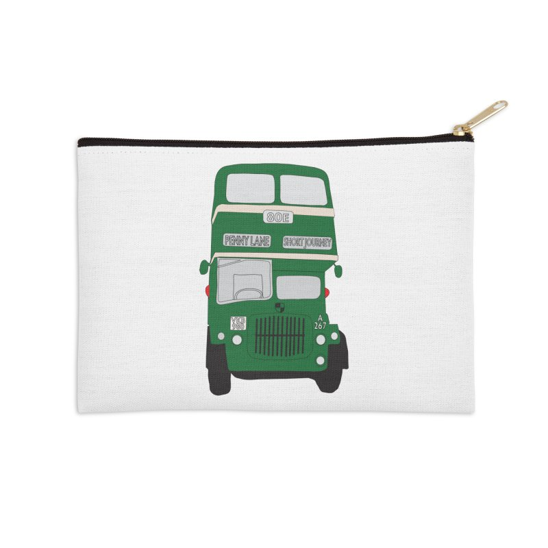 Penny Lane Liverpool bus Accessories Zip Pouch by snapdragon64's Shop
