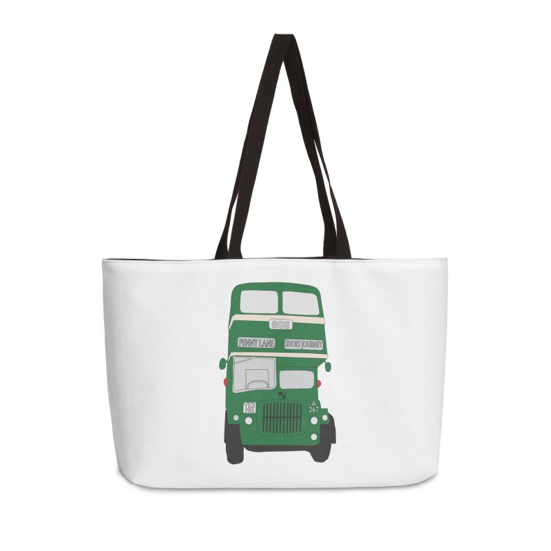 Penny Lane Liverpool bus Accessories Weekender Bag Bag by snapdragon64's Shop