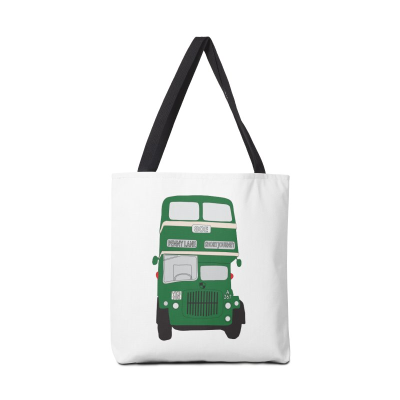 Penny Lane Liverpool bus Accessories Bag by snapdragon64's Shop