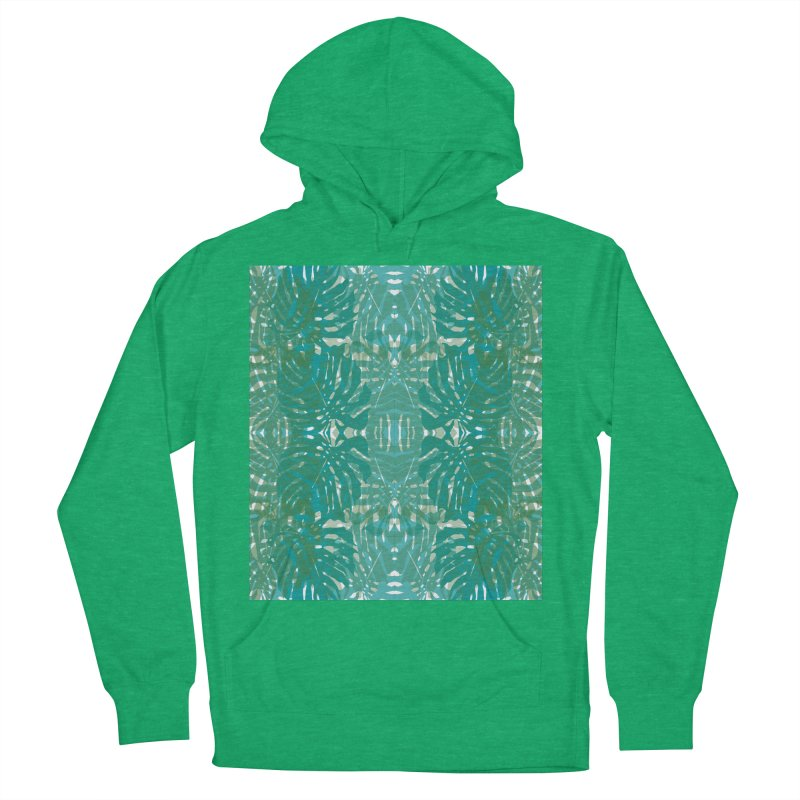 Jungle Women's French Terry Pullover Hoody by snapdragon64's Shop